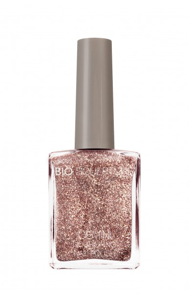 Bio Sculpture, Gemini, Nagellack, Farblack, Rosé, Gold, SHINE LIKE A DISCO BALL 14 ML