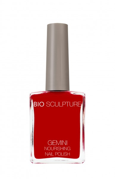 Bio Sculpture, Gemini, Nagellack, Farblack, Rot PILLAR BOX 14 ML