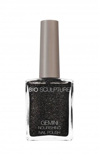 Bio Sculpture, Gemini, Nagellack, Farblack, Dunkel, Schwarz STARLIT COBBLESTONE 14 ML