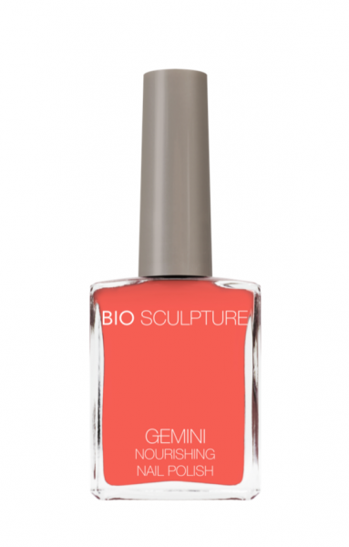 Bio Sculpture, Gemini, Nagellack, Farblack, Koralle, Korallenrot, Orange CORAL 14 ML