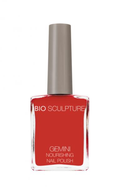 Bio Sculpture, Gemini, Nagellack, Farblack, Koralle, Korallenrot TROPICAL FLAME 14 ML