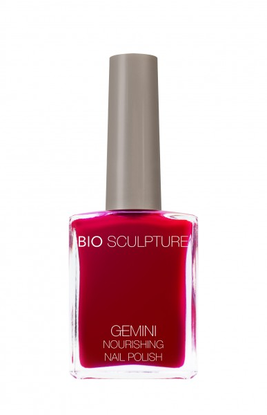 Bio Sculpture, Gemini, Nagellack, Farblack, Rot REAL RED 14 ML