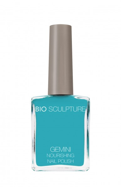 Bio Sculpture, Gemini, Nagellack, Farblack, Blau, Türkis, AQUACADE 14 ML