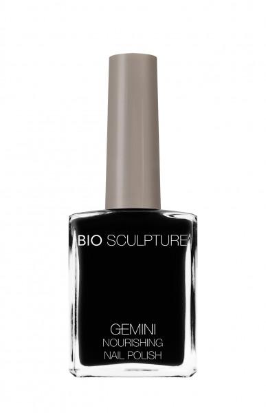 Bio Sculpture, Gemini, Nagellack, Farblack, Dunkel, Schwarz LIQUORICE 14 ML