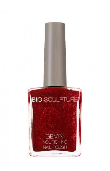 Bio Sculpture, Gemini, Nagellack, Farblack, Rot, Glitzer, SEDUCTIVE LIGHTS 14 ML