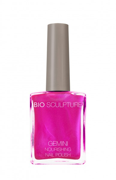 Bio Sculpture, Gemini, Nagellack, Farblack, Fluorescent, Pink NEON POMEGRANATES ON ICE 14 ML