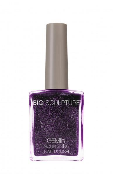 Bio Sculpture, Gemini, Nagellack, Farblack, Glitzer, Lila, Violett, Purpur, FLIRTY 14 ML
