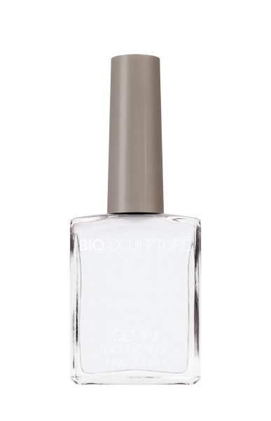 Bio Sculpture, Gemini, Nagellack, Farblack, French, Weiss FRENCH WHITE 14 ML
