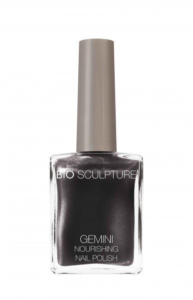 Bio Sculpture, Gemini, Nagellack, Farblack, Dunkel, Grau ANTIQUE GRANITE 14 ML