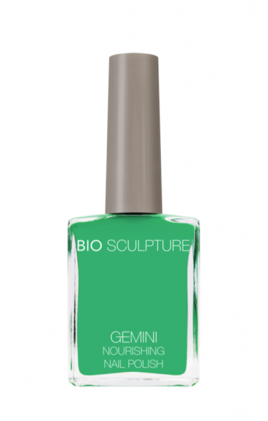 Bio Sculpture, Gemini, Nagellack, Farblack, Gruen CATCH THE WIND 14 ML