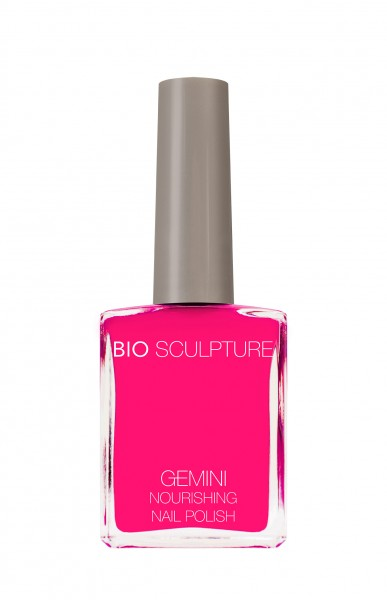 Bio Sculpture, Gemini, Nagellack, Farblack, Fluorescent, Pink LUMINOUS WATERMELON SORBET 14 ML
