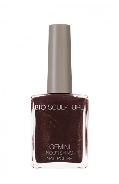 Bio Sculpture, Gemini, Nagellack, Farblack, Braun, HOT CHOCOLATE 14 ML