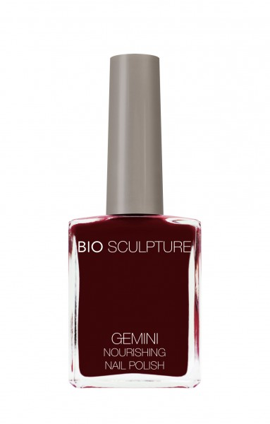 Bio Sculpture, Gemini, Nagellack, Farblack, Rot PORT WINE 14 ML