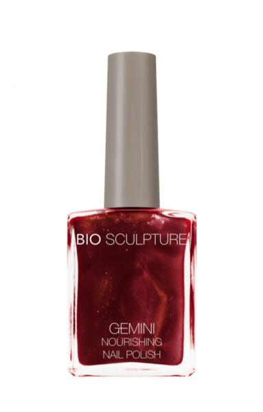 Bio Sculpture, Gemini, Nagellack, Farblack, Rot CLARET 14 ML