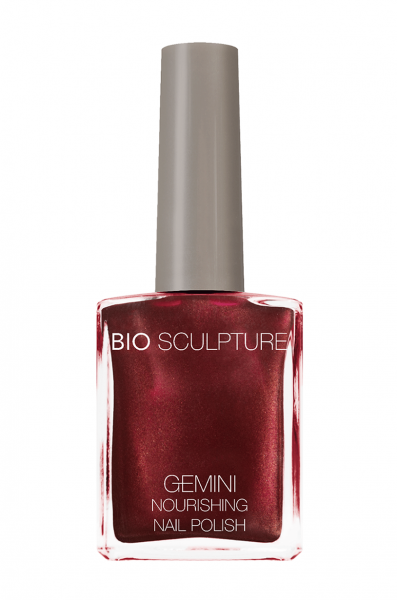 Bio Sculpture, Gemini, Nagellack, Farblack, Rot RAVISHING RUBY 14 ML