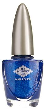 Bio Sculpture, Nagellack, Farblack, Glitzer, Blau, Prince 12 ml