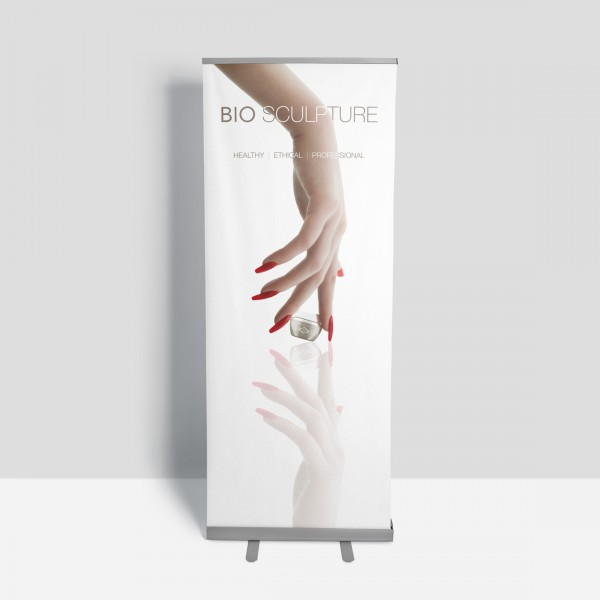Bio Sculpture Rollup-Banner