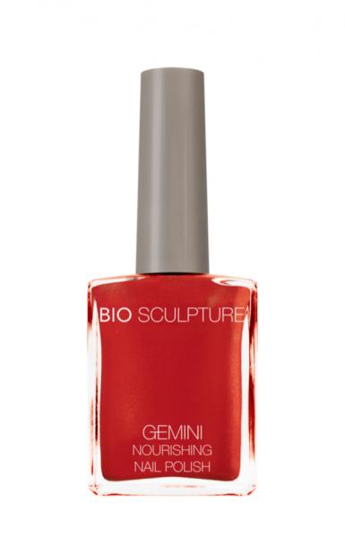 Bio Sculpture, Gemini, Nagellack, Farblack, Koralle, Korallenrot SUNSET SHIMMER 14 ML